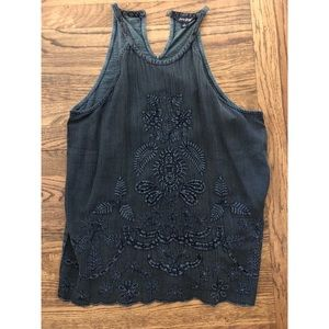 LUCKY BRAND jean top